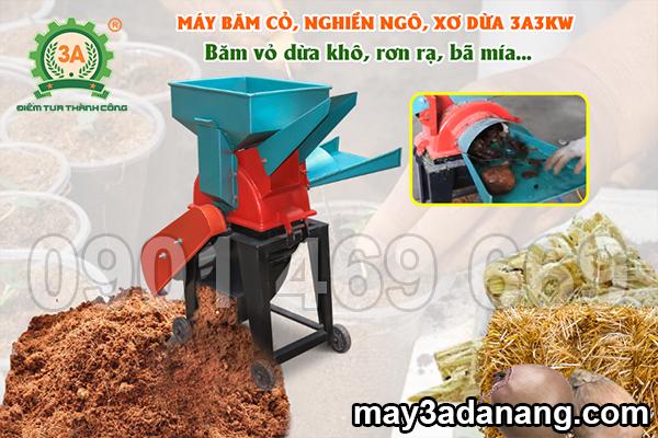 phát triển kinh tế từ phụ phẩm nông nghiệp với máy xay xơ dừa