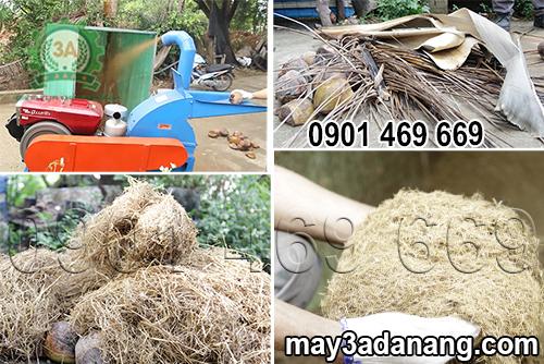 Máy nghiền vỏ dừa, máy xay ván bóc