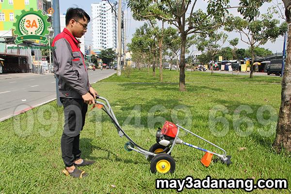 máy cắt cỏ, máy cắt cỏ đẩy tay, máy cắt cỏ chạy xăng