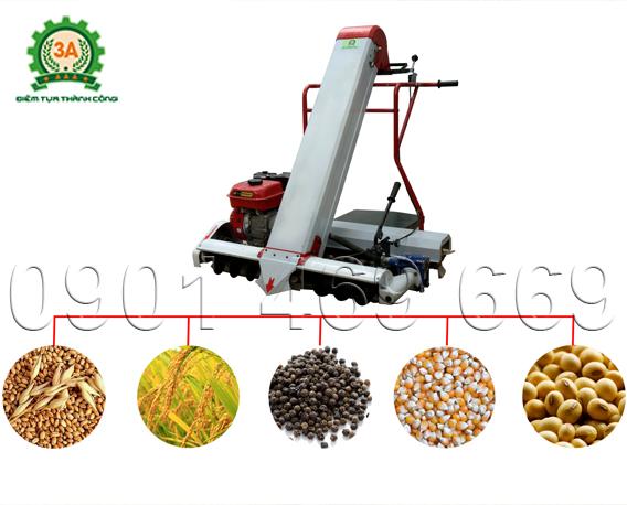 máy thu gom lúa, máy thu thóc vào bao, máy thu gom lúa đổ đa năng, máy thu lúa vào bao, máy thu thóc
